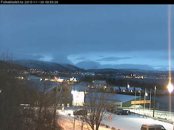 Webcam For The Port Of Finnsnes