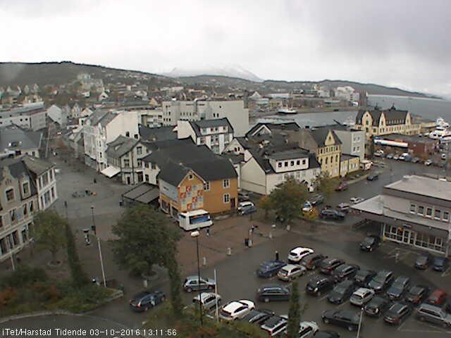 Harstad - Marktplatz